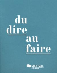 Patricia Brignone - Du dire au faire.