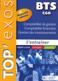 Patricia Charpentier et Michel Coucoureux - Comptabilité de gestion, Comptabilité financière, Gestion des investissements BTS CGO.