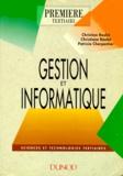 Patricia Charpentier et Christian Raulet - Gestion et informatique.