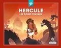Patricia Crété - Hercule - Les douze travaux.
