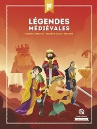 Patricia Crété et Claire Dozoir - Légendes médiévales - Arthur ; Perceval ; Tristan & Iseult ; Mélusine.