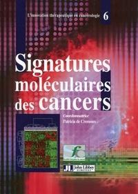 Patricia De Cremoux - Signatures moléculaires des cancers.