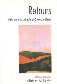 Galabria.be Retours - Mélanges à la mémoire de Stéphane Mosès Image