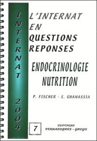 Patricia Fischer et Edouard Ghanassia - Endocrinologie-Nutrition.