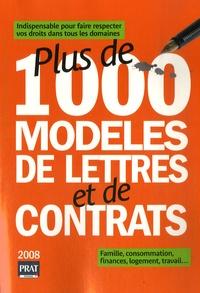 Patricia Gendrey et Agnès Chambraud - Plus de 1000 modèles de lettres et de contrats.