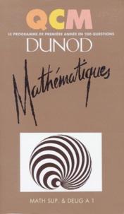 Patricia Hug et François Guénard - Mathématiques - [math sup. et DEUG A 1].