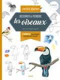 Patricia Legendre et Philippe Legendre - Les oiseaux - 16 modèles pour apprendre à dessiner étape par étape.