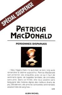 Patricia MacDonald - Personnes disparues.