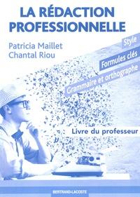 La rédaction professionnelle - Livre du professeur.pdf