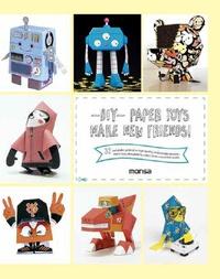 Histoiresdenlire.be DIY, Paper Toys - Make New Friends! Image