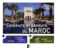 Patricia Masso - Couleurs et saveurs du Maroc - Coffret en 3 volumes.