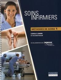 Patricia Potter et Anne Griffin Perry - Soins infirmiers - 4 volumes : Fondements généraux Tomes 1 & 2 + Guide d'études ; Méthodes de soins 1.