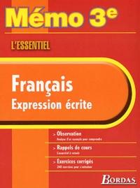 Français expression écrite 3ème. Lessentiel.pdf