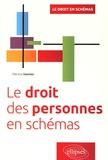 Patricia Vannier - Le droit des personnes en schémas.