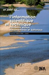 Histoiresdenlire.be L'INFORMATION SCIENTIFIQUE ET TECHNIQUE. Nouveaux enjeux documentaires et éditoriaux Image