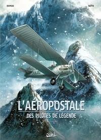 Patrick-A Dumas et Christophe Bec - L'aéropostale, des pilotes de légende Tome 1 : Guillaumet.