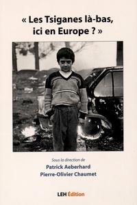 """Patrick Aeberhard et Pierre-Olivier Chaumet - """"Les Tsiganes là-bas, ici en Europe ?""""."""