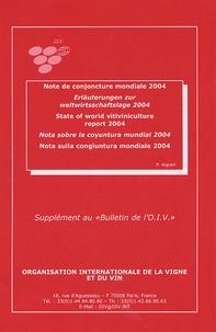 Note de conjoncture mondiale 2004- Edition français-anglais-espagnol-allemand - Patrick Aigrain | Showmesound.org