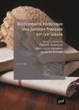Patrick Arabeyre et Jean-Louis Halpérin - Dictionnaire historique des juristes français, XIIe-XXe siècle.