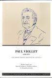"""Patrick Arabeyre et Alexandra Gottely - Paul Viollet (1840-1914) - """"Un grand savant assoiffé de justice""""."""