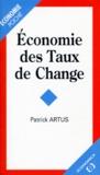 Patrick Artus - Économie des taux de change.