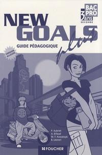 Histoiresdenlire.be Anglais 2e Bac pro New Goals plus - Guide et documents pédagogiques version allégée Image