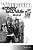 Patrick Aubriet et Annick Billaud - Anglais Bac pro 1e Tle professionnelles Workbook Action Goals - Corrigé.