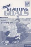 Patrick Aubriet - New starting goals CAP - Guide pédagogique.