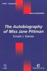 Patrick Badonnel - The Autobiography of Miss Jane Pittman - Ernest J. Gaines.