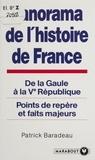 Patrick Baradeau - Panorama de l'histoire de France.