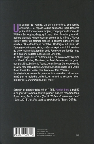 Piero Heliczer. L'arme du rêve