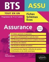 Patrick Barrotta - BTS Assurance - Annales corrigées.