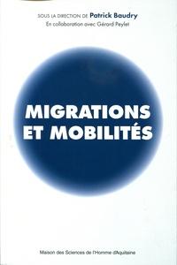 Patrick Baudry - Migrations et mobilités.
