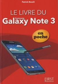 Patrick Beuzit - Le livre du Galaxy Note 3 en poche.