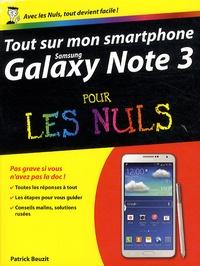 Tout sur mon smartphone Galaxy Note 3 pour les nuls - Patrick Beuzit | Showmesound.org