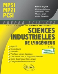 Patrick Beynet - Sciences industrielles de l'ingénieur MPSI, MP2I, PCSI.