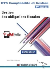 Patrick Bihonda et Sandrine Collet - Gestion des obligations fiscales BTS CG 1re année - Processus 3.