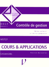 DECF EPREUVE N° 7 CONTROLE DE GESTION. Cours et applicaitons.pdf
