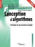 Patrick Bosc et Marc Guyomard - Conception d'algorithmes - Principes et 150 exercices corrigés.
