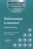 Patrick Boulongne - Mathématiques et assurance - Premiers éléments.