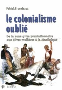 Patrick Bruneteaux - Le colonialisme oublié - De la zone grise plantationnaire aux élites mulâtres à la Martinique.