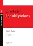 Patrick Canin - Droit civil - Les obligations.