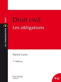 Patrick Canin - Droit civil - Les obligations.