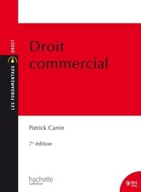 Patrick Canin - Droit commercial.