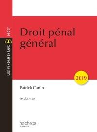 Patrick Canin - Droit pénal général 2019 (9e édition).