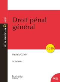 Patrick Canin - Droit pénal général.