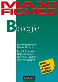 Daniel Richard et Patrick Chevalet - Maxi fiches de Biologie.