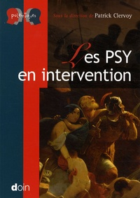 Patrick Clervoy - Les psy en intervention.