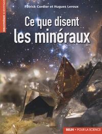 Deedr.fr Ce que disent les minéraux Image