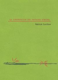 Patrick Corillon - La conservation des paysages humides.